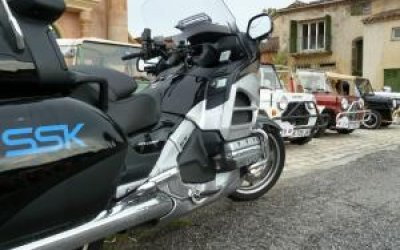 Goldwing GL 1800 model 2012. Serre chevalier